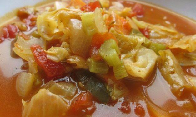 Σούπα με άσπρο λάχανο