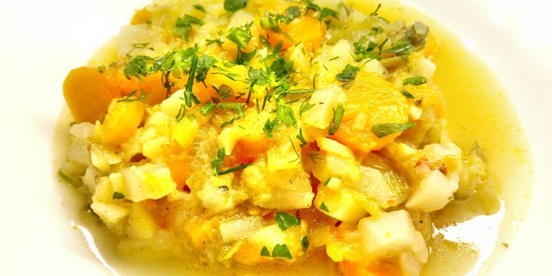 Σούπα με Καρότα και Γογγύλι