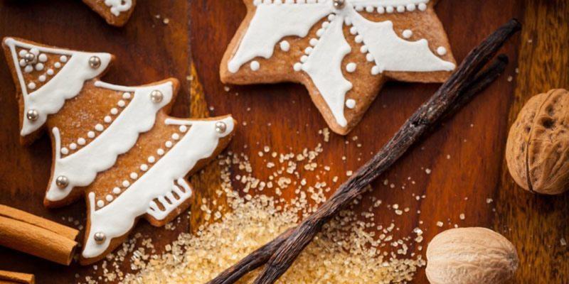 Χριστουγεννιάτικα Μπισκότα με Ντίνκελ