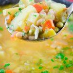 Σούπα Λαχανικών Μινεστρόνε