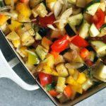 Λαχανικά Ανάμικτα στο Φούρνο Μεσογειακά