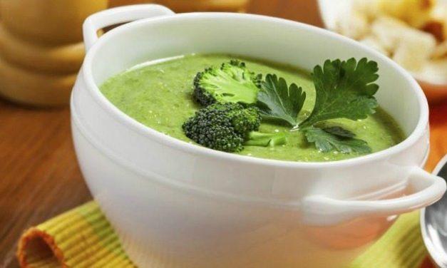 Σούπα από Μπρόκολο απλή