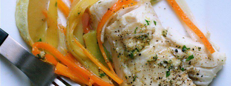 Γεύμα. Ψάρι στην Λαδόκολλα